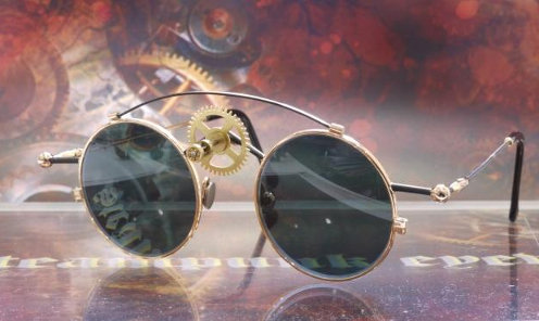 Steampunk eyewear
